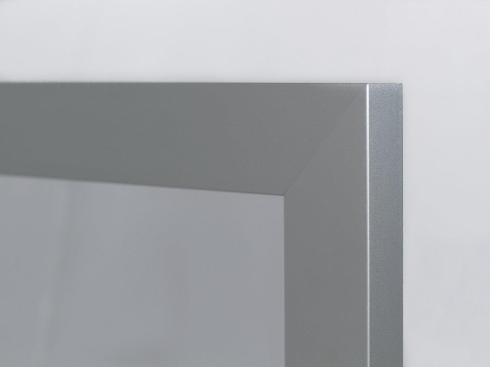 Porta-9 (Perfil V02 mate + vidro fosco)